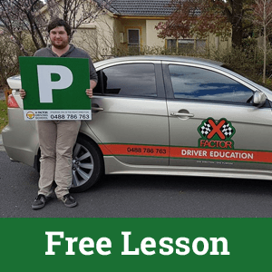 Free driving lesson Eastern Suburbs Melbourne