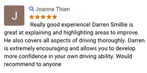 Learn to drive Lilydale review - X Factor Driving School