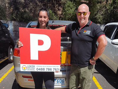 Driving instructor comfortable - learning to drive east melbourne